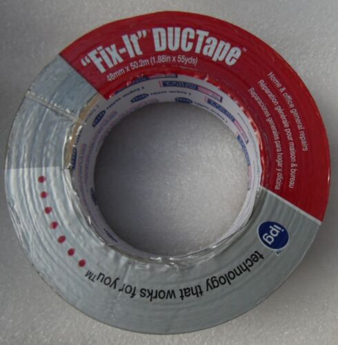 "1.88"" x 55 yd DuPont Dacron Fix It DucTape1.88"" x 5 by Intertape Duct Tape 6900"