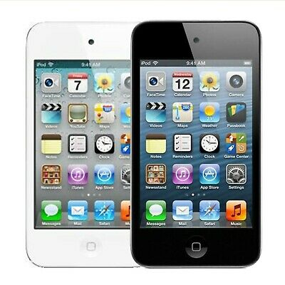 Fair Apple iPod Touch 4th Gen 8GB 16GB 32GB 64GB MP3 Player Black//White