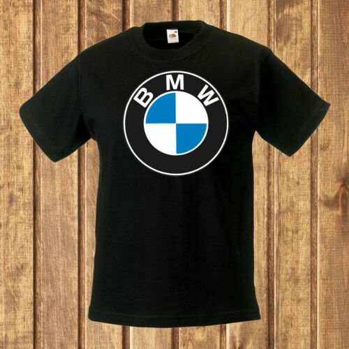 BMW logo 3  BLACK t-shirt kids clothes for child toddler boy girl shirt BMW