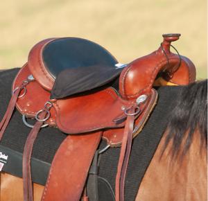 CASHEL CUSHION SEAT SADDLE STANDARD WESTERN HORSE TACK TUSH CUSH CRUSADER