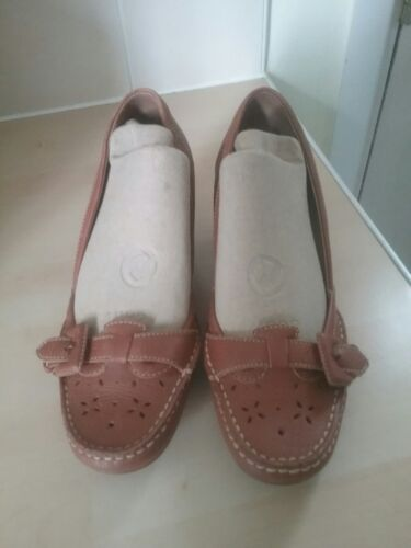 Heeled Clarks 5 Low Leather Tan Shoes Size 77ZqwxUCt