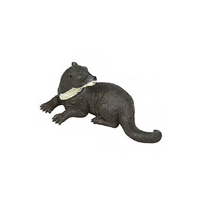 AAA 13826L Otter Looking Left Wild Animal Toy Model Figurine Replica - NIP