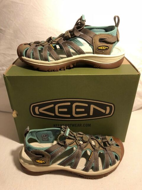a3371e06d83f KEEN Womens Sandals Whisper Shitake MALACHITE Size 6 for sale online ...