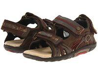 Stride Rite Sandals Scooter Brown 4.5 M 5 W