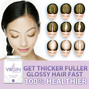 VIRGIN-FOR-WOMEN-HAIRLOSS-PILLS-TABLETS-HAIR-RE-GROWTH-GROW-LONG-HAIR-FAST