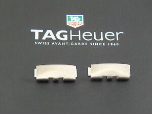 N-O-S-original-Heuer-Autavia-Bracelet-End-links-set-2-20-mm-Man-parts-EU