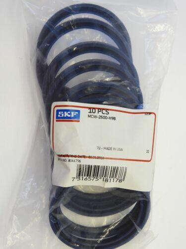 10 pcs SKF MCW-2500-H9B 2-1//2 x 3 x 5//16 inch Wiper Seal 2.5 x 3 x 0.312 New