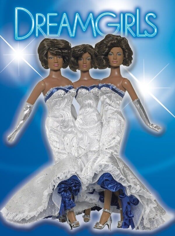Tonner Tyler 16  2006 DREAMGIRLS THE DREAMS 3 Doll Set LE 200 NRFB Deena Effie