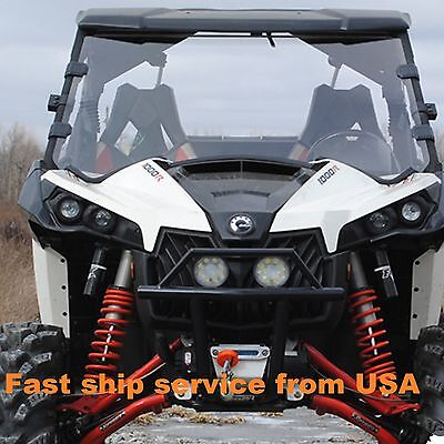 2013-2018 Can AM Maverick Max 1000r 3//16 Polycarbonate Full Windshield