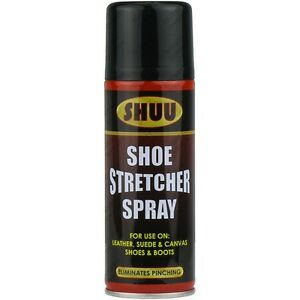 shoe stretcher spray relieves tight fitting shoes leather softener. Black Bedroom Furniture Sets. Home Design Ideas