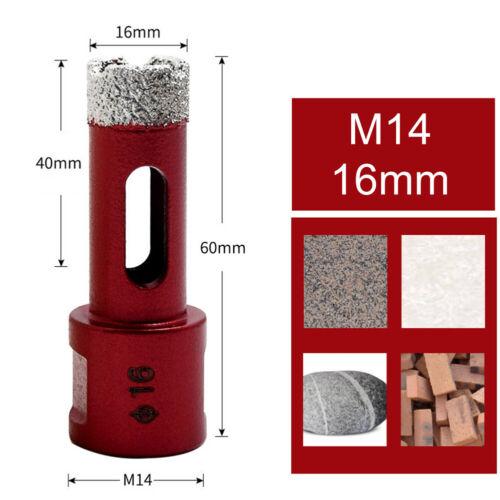 6-68mm M14 Diamond Core Drill Bit Hole Saw Cutting Stone Porcelain Tile Glass