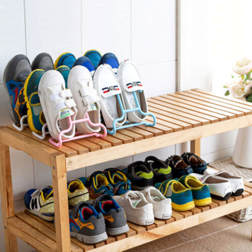 Creative 2PCS//Set Multi-Function Shelf Drying Rack Kids Shoes Hanging Storage JE