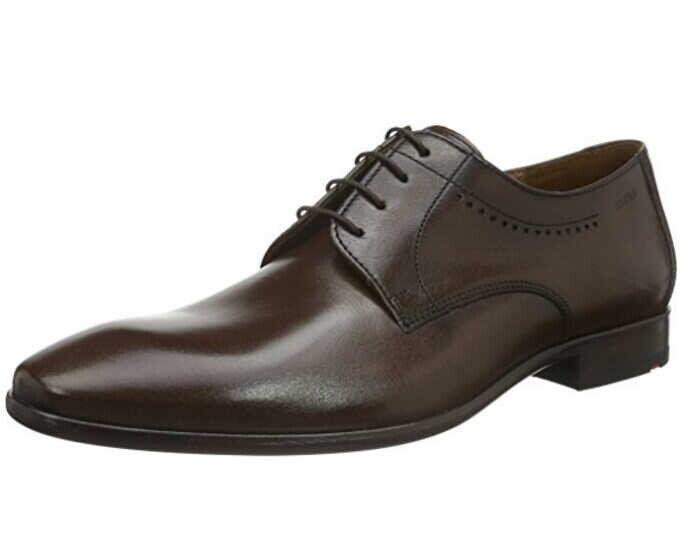 LLOYD of GERMANIA  MENS FORMAL scarpe Marronee OCAS UK 9.5 EU 44 LN43 89  punto vendita