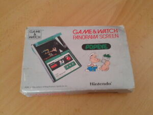NINTENDO GAME&WATCH PANORAMA POPEYE PG-92 SOLO CAJA ONLY BOX