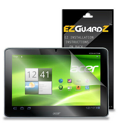 """1X EZguardz Screen Protector Shield HD 1X For Acer Iconia Tab A211 10.1"""" Tablet"""