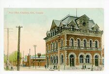 Post Office—Chatham Ontario—Antique Postcard ca. 1910