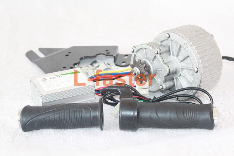 24V 250W Electric Rare Earth DC Motor + Controller + Thredtle E-bike simple kit