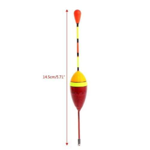 10pcs 4.5g Carp Fishing Floats Set Buoy Bobber Stick For Fish Tackle Vertical 2#