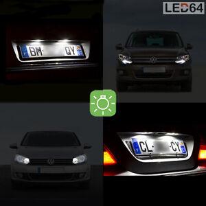 5x luces luz azul paquete iluminación interior para vw eos a partir de 2006