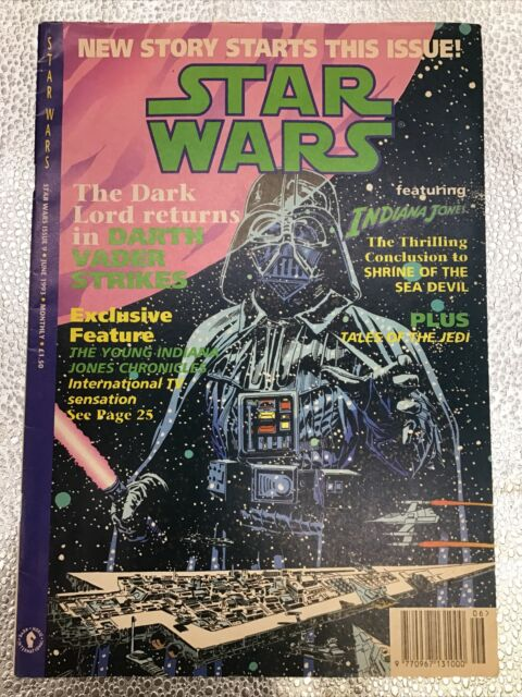Star Wars Comic featuring Indiana Jones - Issue # 9 - June 1993 - Dark Horse
