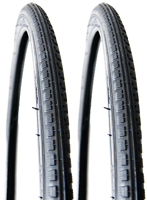 """26/"""" x 1-3//8/"""" Town Bike 37-590 BLACK Traditional Roadster Cycle Tyre"""