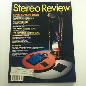 VTG Stereo Review Magazine March 1981 John Lennon/Yoko Ono and Neil Young Discs