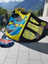 Wave kite RRD religión mk3, 8qm PROMOClÓN 2013-rojo/cian/amarillo-Super Wave Kite!