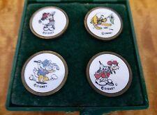 Disney  Brass Golf Ball Markers - 4