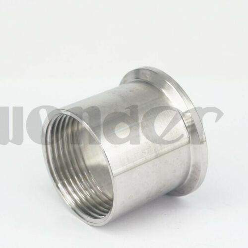 """1-1//4/"""" BSPT Female 1.5/"""" Tri Clamp SUS304 Sanitary Fitting Connector"""