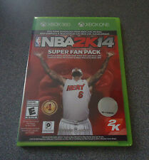 NBA 2K14 Super Fan Pack Digital Codes Only For Xbox 360 & Xbox One     NEW
