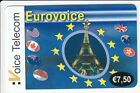 FRANCE TELECARTE / PHONECARD PREPAYEE .. 7€50 VT TOUR EIFFEL TOWER PARIS EM+N°