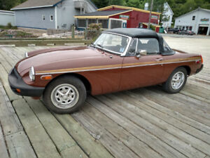 For sale a 1979 MGB