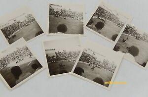 Reportage-Photo-Corrida-Annees-60-039-Lot-de-7-photographies-noir-amp-blanc