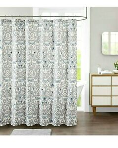 New Jla Home Decor Studio Kandula 72 X 72 Elephant Fabric Shower Curtain Ebay