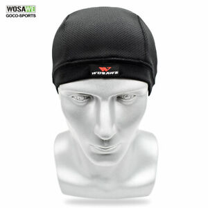 Cool-Helmet-inner-Caps-Cycling-Hats-Outdoor-Sports-Quick-Dry-Breathable-Headwear