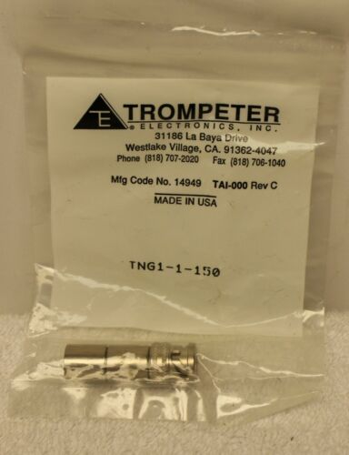 TROMPETER TNG11150 TNG11150 BNC Terminator NEW IN BAG