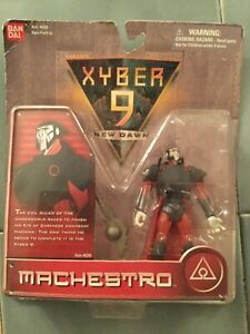 XYBER-9-NEW-DAWN-MACHESTRO-4-INCH-ACTION-SOLDIER-BANDAI-1999-Nice