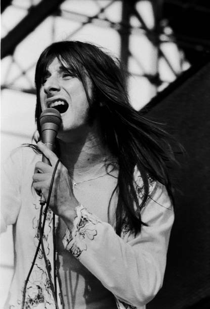 Steve Perry Of Journey At Comiskey Park Old Music Photo 2