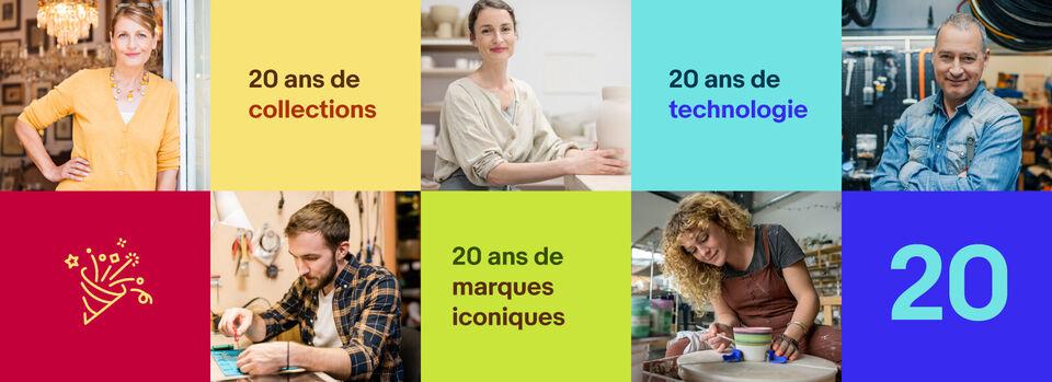 Découvrir - Venez célébrer les 20 ans d'eBay