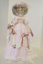"Victorian Florence Maranuk Lady Cynthia 26"" Porcelain Doll Show Stopper NIB"