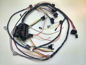 1965 chevy impala ss under dash wiring harness console ... under dash wiring harness 1970 impala #14