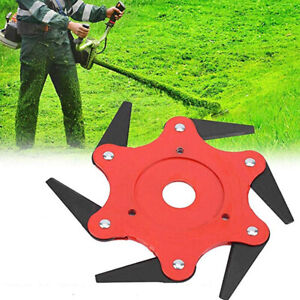 Blade-Manganese-Steel-Razor-Mower-Trimmer-Head-Cutter-Blade-For-Garden-Lawn-New