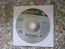 HP Windows 10 Professional 64 Bit Operating System Recovery DVD NEU