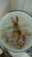 Pottery Barn Meadow Easter Bunny Serving Platter
