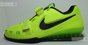 NEW NIKE ROMALEOS II 2 = SIZE 12.5 = MEN'S WEIGHTLIFTING SHOES 476927-700