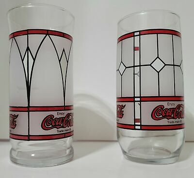 Vintage Style Coca Cola Drinking Glasses