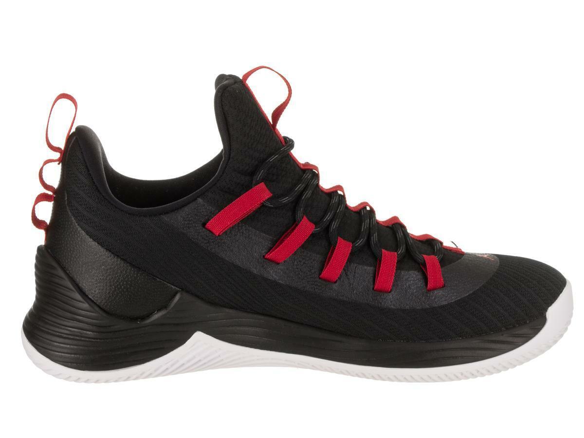 Para Hombre Nike Jordan Ultra Fly 2 Baja Negro Entrenadores AH8110 001