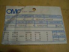 GK NOS JOHNSON EVINRUDE OMC 304545 GASKET SET 2