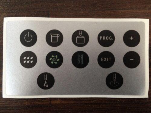 Jura Impressa x7 touches Film Protection-Sticker Autocollant