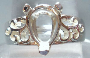 Sz-10-PRE-NOTCHED-SOLID-925-STERLING-SILVER-8-11-mm-RING-MOUNT-SETTING-R44